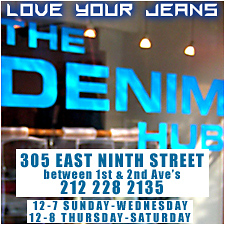 The Denim Hub - East Ninth Street - NYC